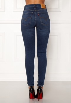 LEVI'S Milehigh Superskinny Jeans Breakthrough Blue Bubbleroom.se