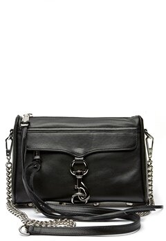 Rebecca Minkoff Mini Mac Bag 001 Black/Silver Bubbleroom.se