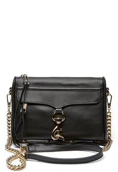 Rebecca Minkoff Mini Mac Bag 001 Black/Light Gold Bubbleroom.se