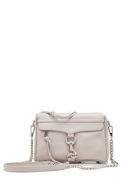 Rebecca Minkoff Mini Mac Leather Bag Putty Bubbleroom.se