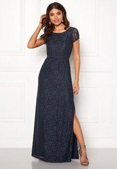 DRY LAKE Mira Long Dress 400 Blue Bubbleroom.se