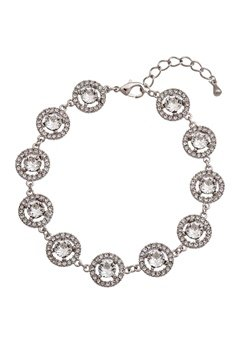 LILY AND ROSE Miranda Bracelet Crystal/silver Bubbleroom.se