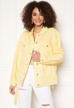 Miss Sixty WJ3750 Jacket Light Yellow Bubbleroom.se