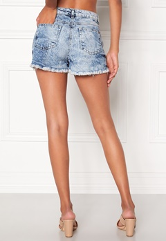 Mixed from Italy Cut Off Denim Shorts Bleach Bubbleroom.se