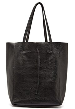 Moda Ex Plain Shopper Bag Black Bubbleroom.se