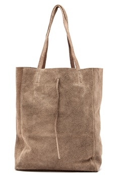 Moda Ex Shopper Bag Taupe Bubbleroom.se