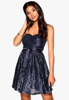 Model Behaviour Ellen Dress Dark blue Bubbleroom.no