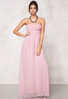 Model Behaviour Lita Maxi Dress Light pink Bubbleroom.se