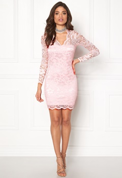 Model Behaviour Simone Dress Light pink Bubbleroom.se