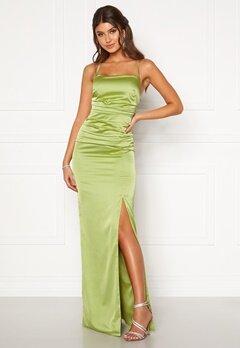 Moments New York Alda Strap Gown Green Bubbleroom.se