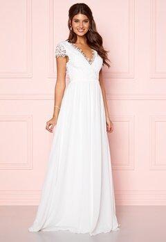 Moments New York Amelia Wedding Gown White Bubbleroom.se