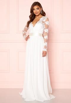 Moments New York Azalea Wedding Gown White Bubbleroom.se
