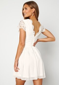 Moments New York Camellia Lace Dress White Bubbleroom.se