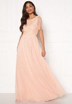 Moments New York Cornelia Beaded Gown Pink Bubbleroom.se