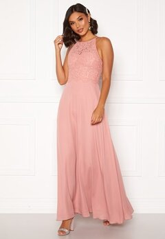 Moments New York Evelyn Lace Gown Pink Bubbleroom.se