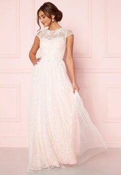 Moments New York Florentina Wedding Gown White Bubbleroom.se