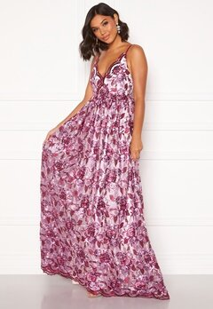 Moments New York Gardenia Floral Gown   Floral Bubbleroom.se