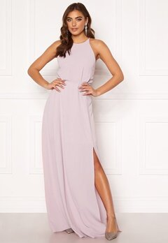 Moments New York Heather Crepe Gown Pink Bubbleroom.se
