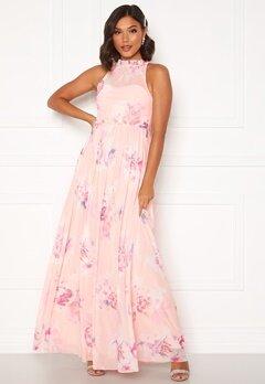 Moments New York Lavender Floral Gown Floral Bubbleroom.se