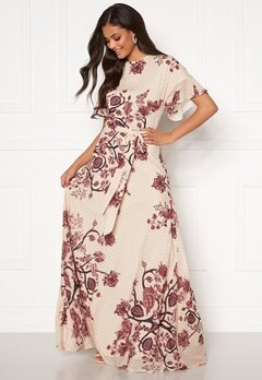 Moments New York Maja Printed Gown Floral Bubbleroom.se