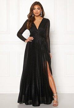 Moments New York Sienna Lurex Gown Black Bubbleroom.se