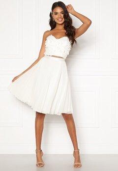 Moments New York Zaria Short Skirt  White Bubbleroom.se