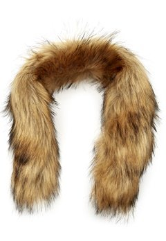 Mountain Works Faux Fur Trim 200 Brown Bubbleroom.se
