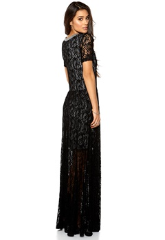 Make Way Yara Dress Black/Grey Bubbleroom.eu
