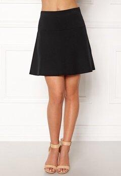 NÜMPH Lynette Knit Skirt Caviar Bubbleroom.no