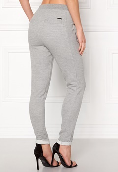 NÜMPH Tweena Pants L. Grey Melange Bubbleroom.no