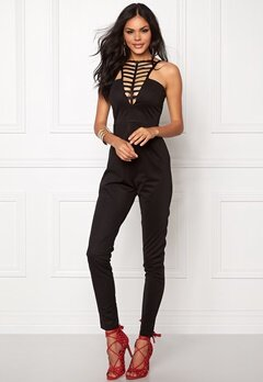NaaNaa Strappy Neck Detail Black Bubbleroom.no