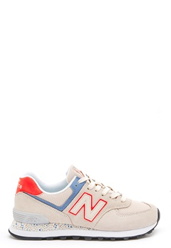New Balance WL574 Sneakers Beige Bubbleroom.se