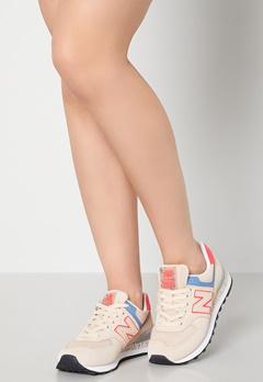 New Balance WL574 Sneakers Beige Bubbleroom.se
