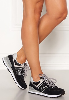 New Balance WL574 Sneakers Black/White Bubbleroom.se