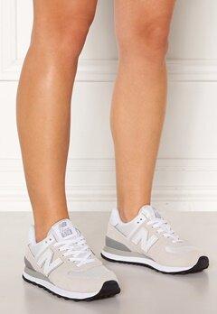 New Balance WL574 Sneakers Vit/Beige Bubbleroom.se
