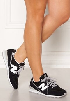 New Balance WL996 Sneakers Black/Silver Bubbleroom.se