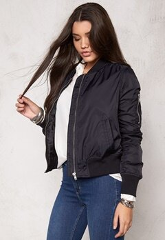 Rut & Circle New Kate Bomber Jacket Black/Silver Bubbleroom.se