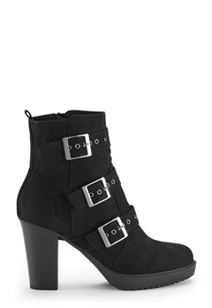 New Look Artic Strap Heeled Shoes Black Bubbleroom.se