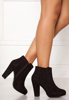 New Look Blooms Platform Chelsea Shoes Black Bubbleroom.se
