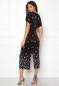 New Look Border Print Jumpsuit Black Pattern Bubbleroom.fi