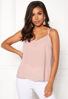 New Look Char Lace Cami Singlet Shell Pink Bubbleroom.se