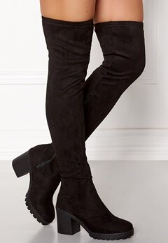 New Look Columbine Boots Black Bubbleroom.se