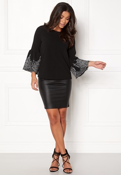 New Look Embellished Top Black Bubbleroom.fi