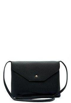 New Look Foldover Zip Crossbody Black Bubbleroom.dk