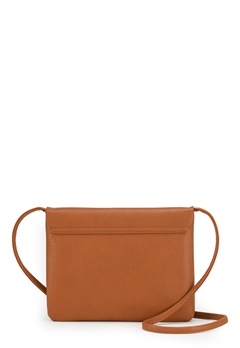 New Look Foldover Zip Crossbody Brun Bubbleroom.fi