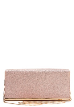 New Look Glitter Clutch Rose Gold Bubbleroom.fi