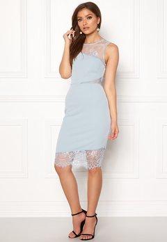 New Look Go Jen Lace Bodycon Dress Pale Blue Bubbleroom.se