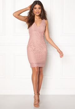 New Look Go Lace Contrast Bcon Pink Pattern Bubbleroom.no