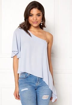 New Look Go TBC Blouse Pale Blue Bubbleroom.no