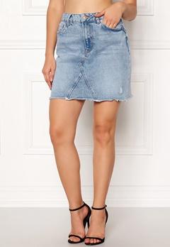 New Look Harvey Cut Off Skirt Wedgewood Bubbleroom.se